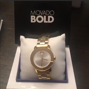 Movado Two Toned Wrist Watch